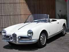 アルファスパイダージュリエッタスパイダー 1956年式モデル 初期型