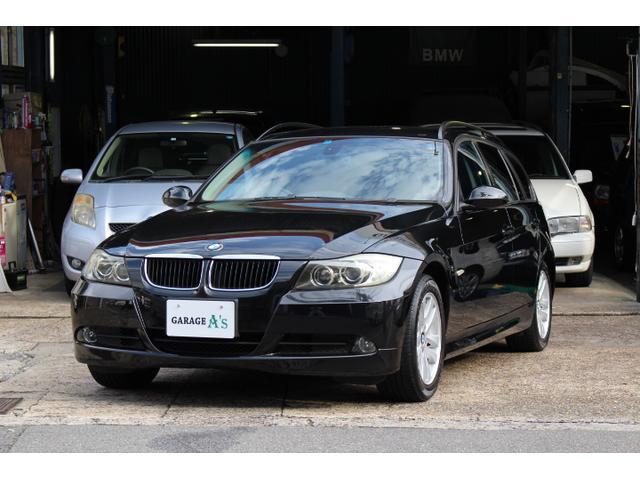 BMW 320iツーリング ハイラインパッケージ 禁煙車 茶革シート