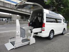 レジアスエースバン福祉車両ウェルキャブBタイプ車イス2台固定10人乗 事業用可