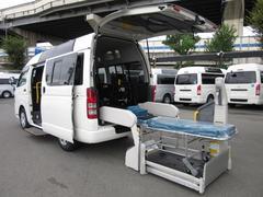 レジアスエースバン福祉車両ウェルキャブBタイプ車イス2台固定10人  事業用可