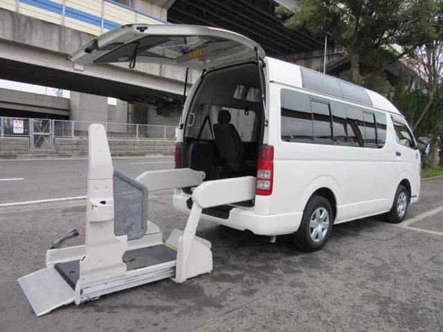 福祉車両ウェルキャブBタイプ車イス2台固定10人乗 事業用可(1枚目)