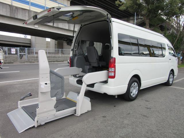 トヨタ ワイド福祉車両ウェルキャブDタイプ車イス4台 パワースライド