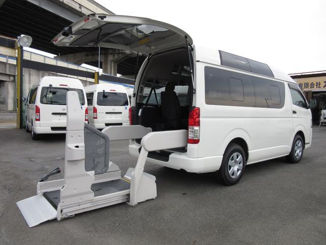 トヨタ 6AT 福祉車両ウェルキャブBタイプ車イス2台 新車保証書付