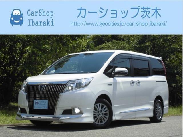 トヨタ ハイブリGi 黒革セーフティーセンス両側Pスラ禁煙モデリスタ