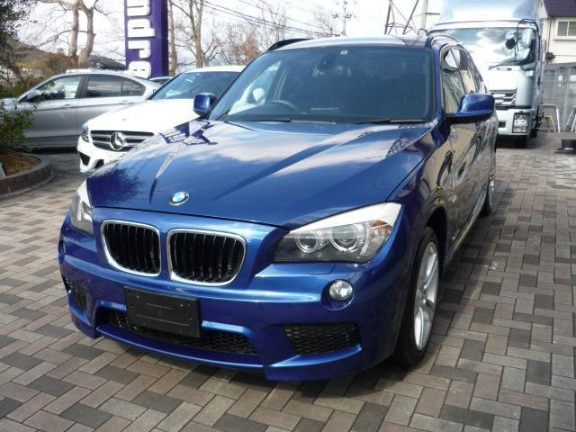 BMW X1 sDrive 18i Mスポーツ専用カラー ルマンブルーM