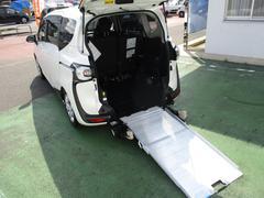 シエンタX 車いす仕様車 スロープタイプI 助手席側セカンドシート付