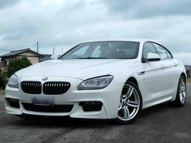 BMW 6シリーズ 640iグランクーペ Mスポーツ ブラックレザー 純正19AW LEDヘッドライト インテリジェントセーフティ 純正HDDナビ TV