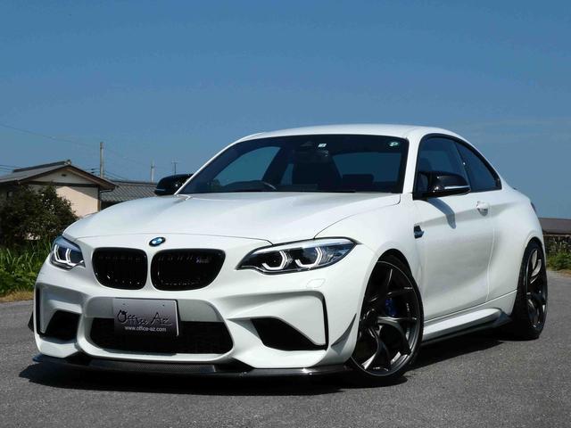 BMW M2 ベースグレード 20AW ローダウン ブラックレザー カーボンエアロ