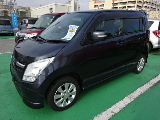マツダ AZワゴン XSスペシャル プッシュスタート タイヤ4本新品装着
