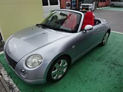 コペンアクティブトップ 赤色シートカバー装着車
