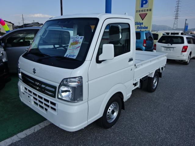 スズキ KCスペシャル スズキセーフティサポート 4WD リモコンキー 5速マニュアル車 新車保証書