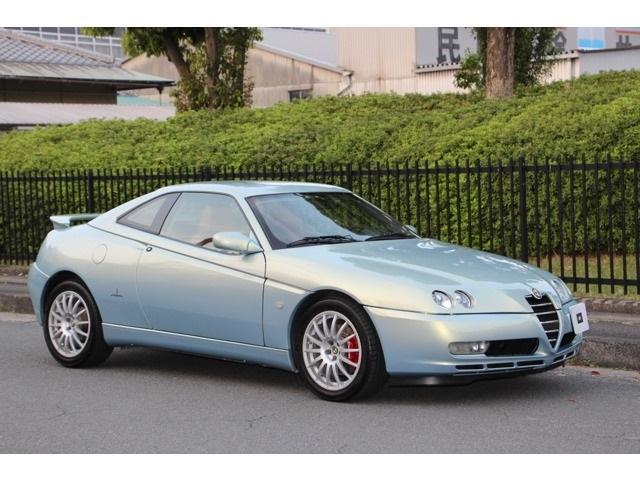 アルファロメオ 3.2 V6 24V FRマフラコニショック 純正17AW