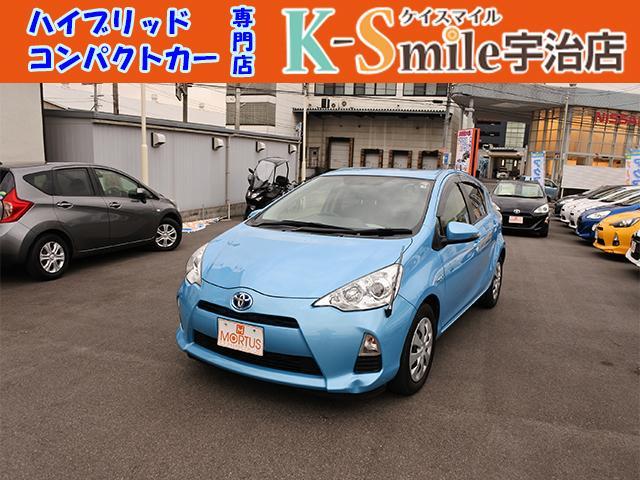 トヨタ アクア S ナビ TV キーフリー ETC 電格ミラー 禁煙車