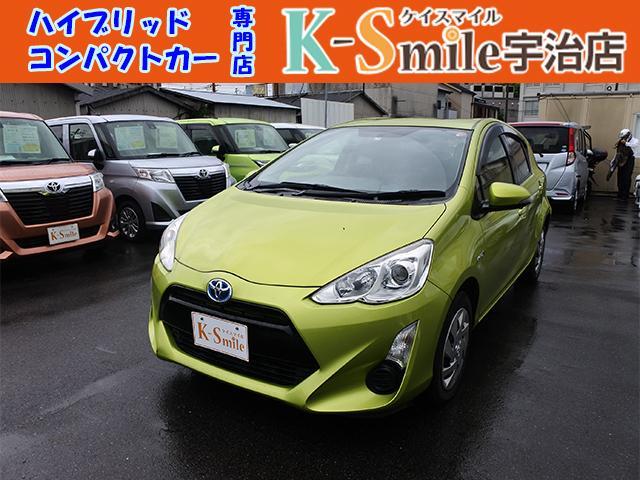 トヨタ アクア S キーフリー ナビ フルセグTV オートAC 禁煙車