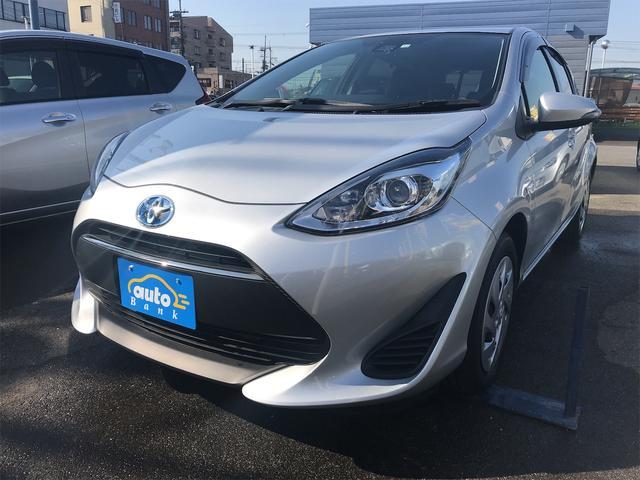 トヨタ アクア S ETC装備 アイドルストップ 衝突防止 LDA オートハイビーム