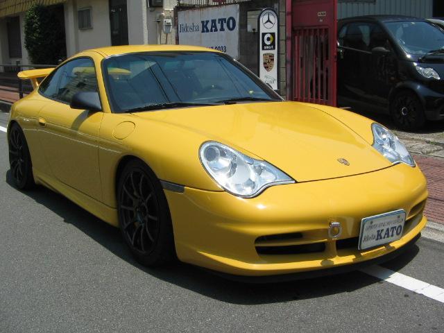 ポルシェ 911GT3  RECAROシート ADVAN18アルミ