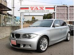 BMW130i Mスポーツ 黒革シート 純正ナビ バックカメラ