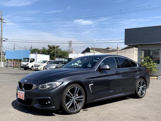 BMW 420iグランクーペ イン スタイル 特別仕様車 200台限定 茶革シート ヘッドアップディスプレイ 純正19インチアルミ LEDヘッドライト