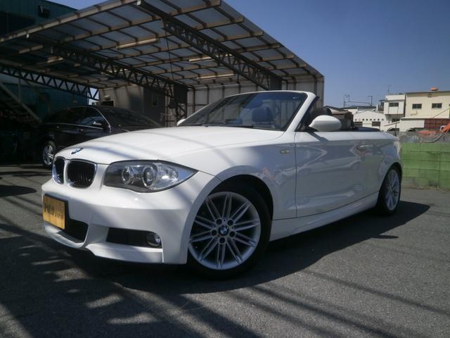 BMW 120i カブリオレ Mスポーツ ナビ ETC キセノン