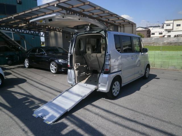 ホンダ G 車椅子仕様車 スローパー 両側スライドドア 電動ウインチ