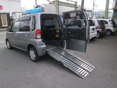 トッポ車椅子仕様車 スローパー 車高降下装置 電動固定装置