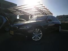 BMWアクティブハイブリッド7L SR茶革 リアエンターテイメント