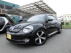 VW ザ・ビートルターボ クールスターP 黒革シート サンルーフ ナビTV