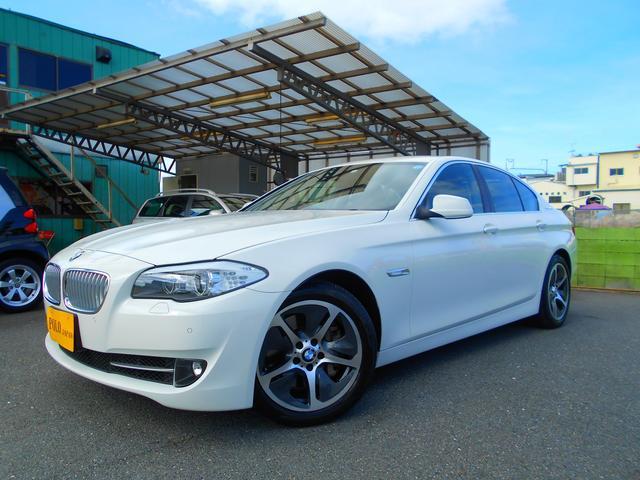 BMW アクティブハイブリッド5 1オーナー 黒革 ナビ DTV