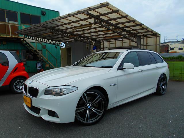 BMW 5シリーズ 523iツーリング Mスポーツ ナビDTVBカメラETC