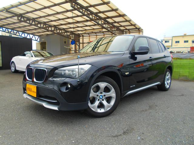 BMW X1 sDrive 18i 純正HDDナビ 純正ミラーETC プッシュスタート 取説 保証書 記録簿 スペアキー