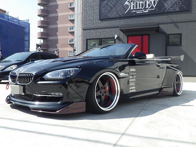 BMW 6シリーズ 640iカブリオレ レザー エアサス オーバーフェンダー