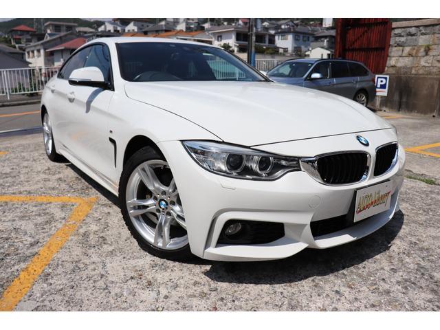 BMW 420iグランクーペ Mスポーツ 黒革シート シートヒーター 全国対応2年長期無料保証付 BMW認定店 パワーリアゲート バックカメラ
