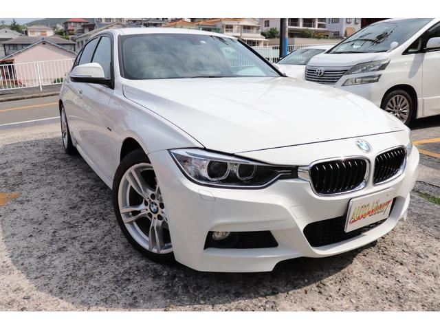 BMW 3シリーズ 320i Mスポーツ ワンオーナー 革シート パドルシフト 2年長期無料保証