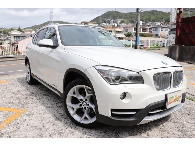 BMW X1 sDrive 20i xライン 2年長期無料保証付 BMW認定店 純正ナビ フルセグTV バックカメラ ETC ハーフレザーシート 18インチアルミ コンフォートアクセス機能付
