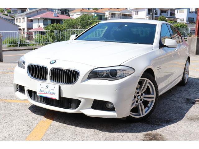 BMW 523i Mスポーツパッケージ 2年間長期無料保証付 純正ナビ フルセグTV バックカメラ ミラー型ETC 純正19インチアルミ REMUSマフラー