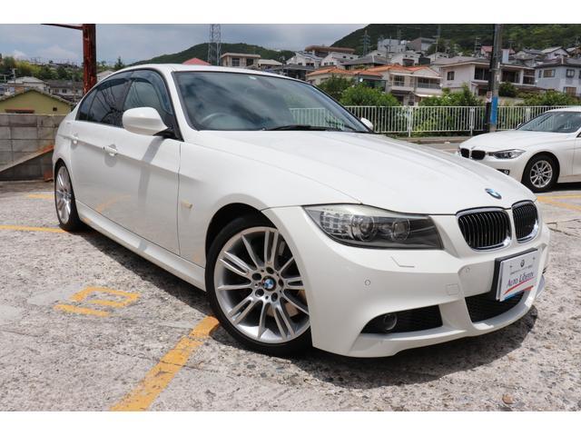BMW 335i Mスポーツパッケージ 2年長期無料保証付 革シート サンルーフ 地デジTV パドルシフト  18インチアルミ 直6ターボエンジン