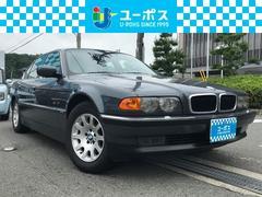 BMW735i ディーラー車/サンルーフ/本革シート