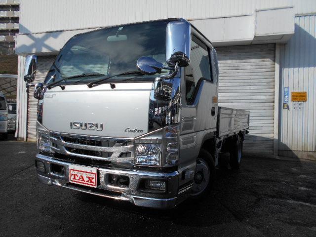 いすゞ フルフラットローカスタム ナビTV・ETC・PW・キーレス