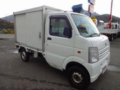 キャリイトラック移動販売ベース車 4WD 保冷バン 左右ドア