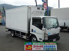 エルフトラック冷凍車 低温 ワイド ロング 2.9t積み 左ドア 2室構造