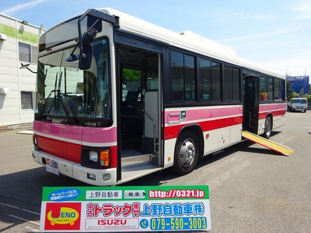 日野 ブルーリボン 路線バス 自家用送迎バス 39人乗り