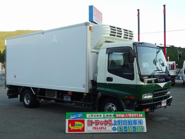 いすゞ 冷凍車 低温 床キーストン 標準幅 ベッドレス 3.1t積み