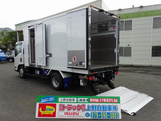 いすゞ 冷凍車 低温 パワーゲート スタンバイ装置付 ロング 3t積