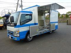 キャンター検査測定車 移動販売 事務室車 オートマ限定免許対応