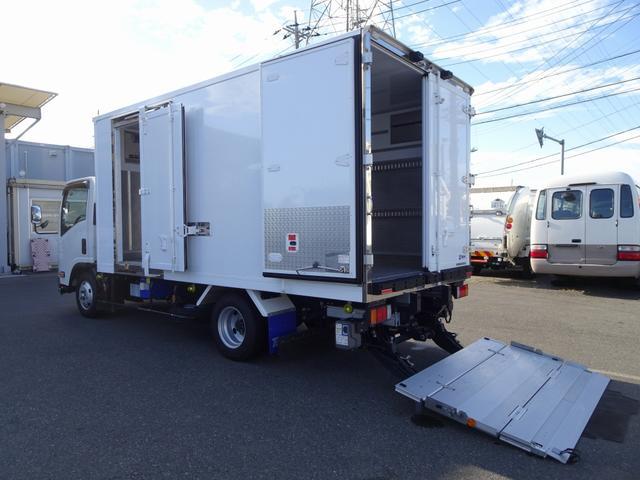 いすゞ 2t 低温冷凍車 加温装置付 パワーゲート付 スタンバイ装置
