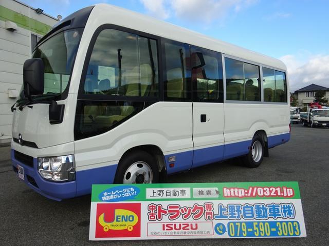 トヨタ LX マイクロバス 25人乗り 標準ボディ 自動スイング扉