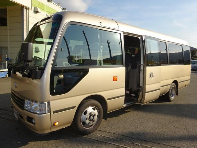トヨタ 29人乗りマイクロバス EXロング 総輪エアサス AT車