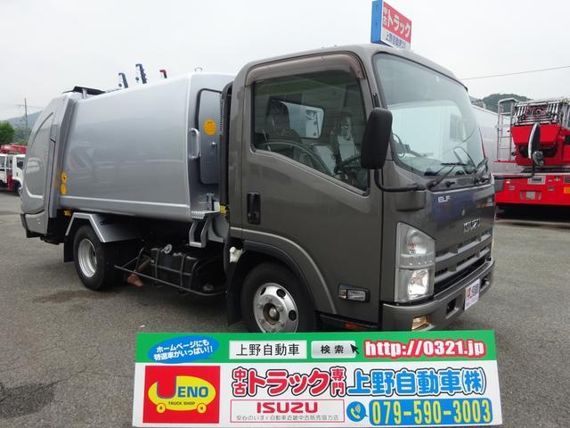 いすゞ プレス式パッカー車 フジマイティー 6.0m3 2.7t積み