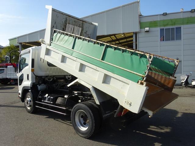 いすゞ Lゲートダンプ 極東開発 標準幅 ベッドレス 3.65t積み