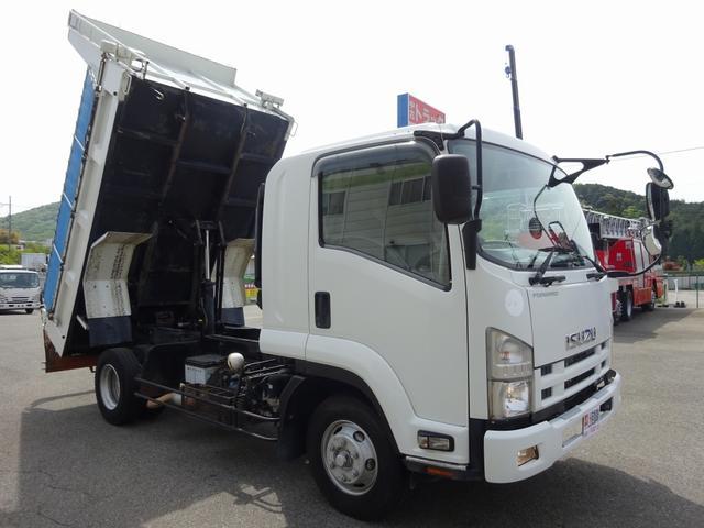 いすゞ 土砂ダンプ 新明和工業 標準幅 ベッド付 3.6t積み